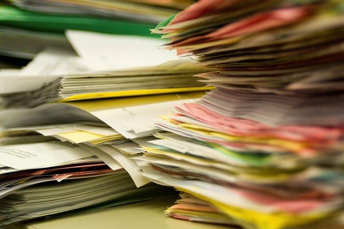 Biên lai, hóa đơn, giấy tờ không nên để trong phòng ngủ