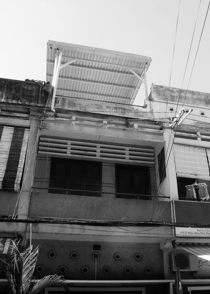 Mặt tiền ngôi nhà trước cải tạo