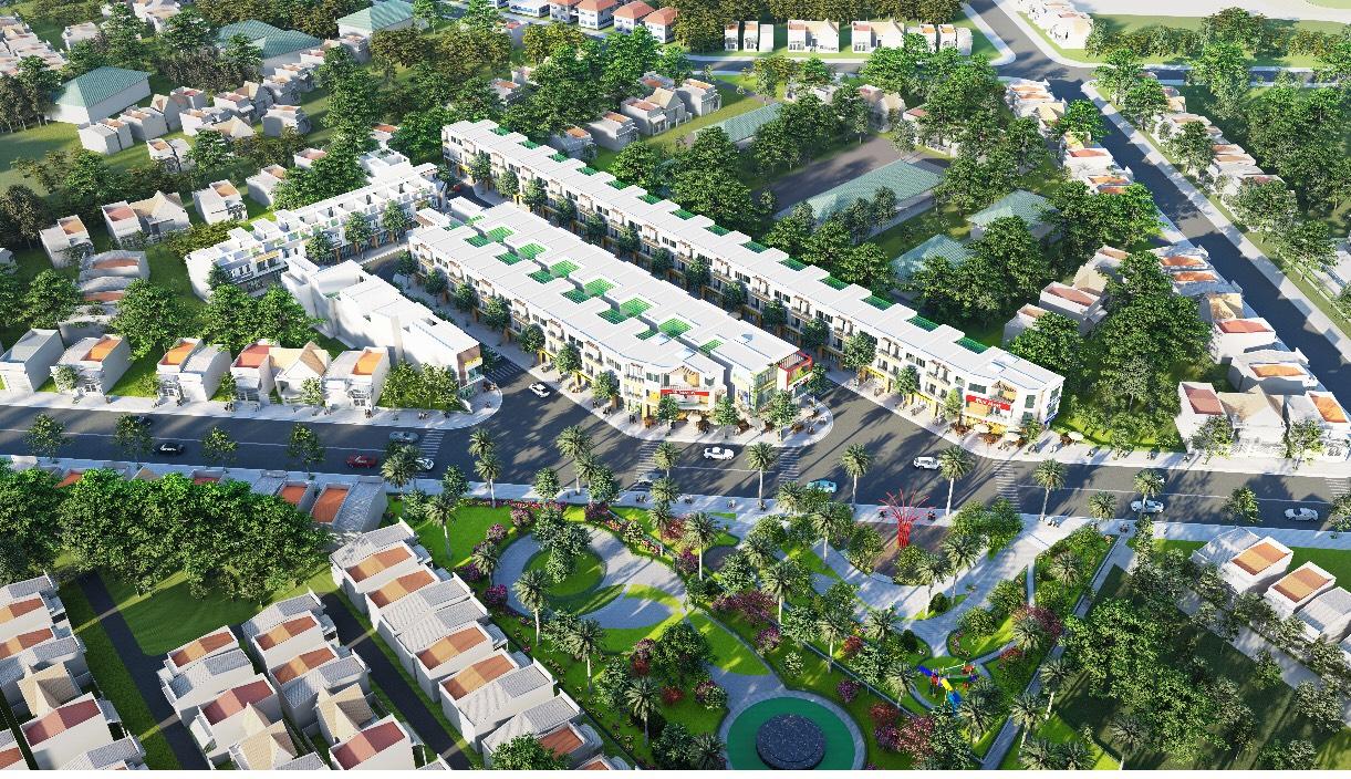 Phối cảnh tổng thể dự án Lavela Garden