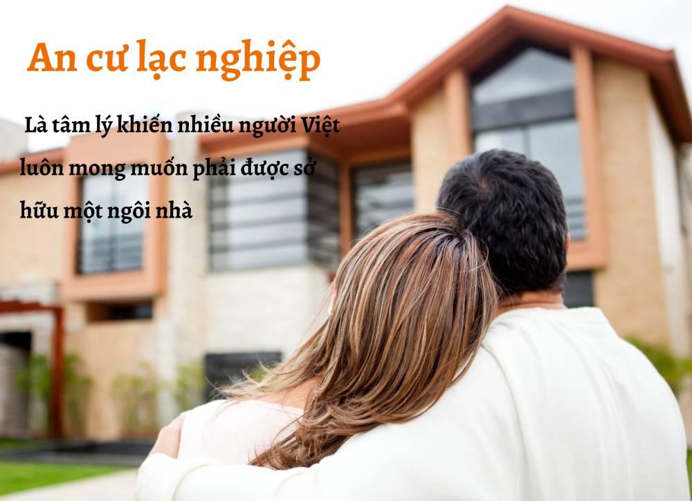 Vợ chồng trẻ mơ ước sở hữu một ngôi nhà