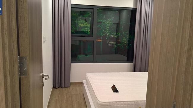 phòng ngủ căn hộ 1PN + 1