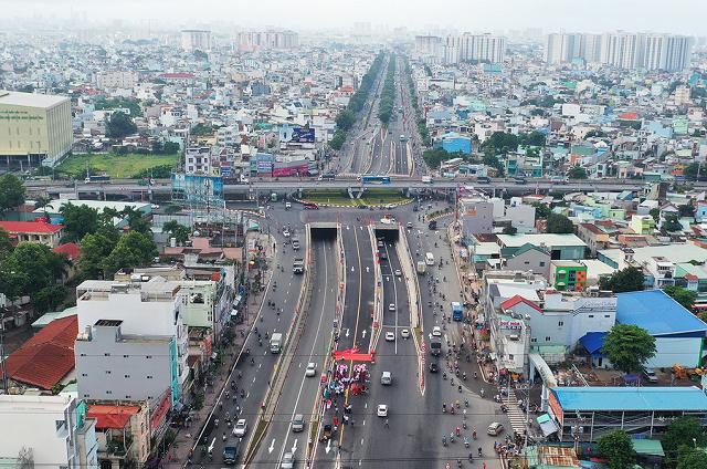nút giao thông trong thành phố