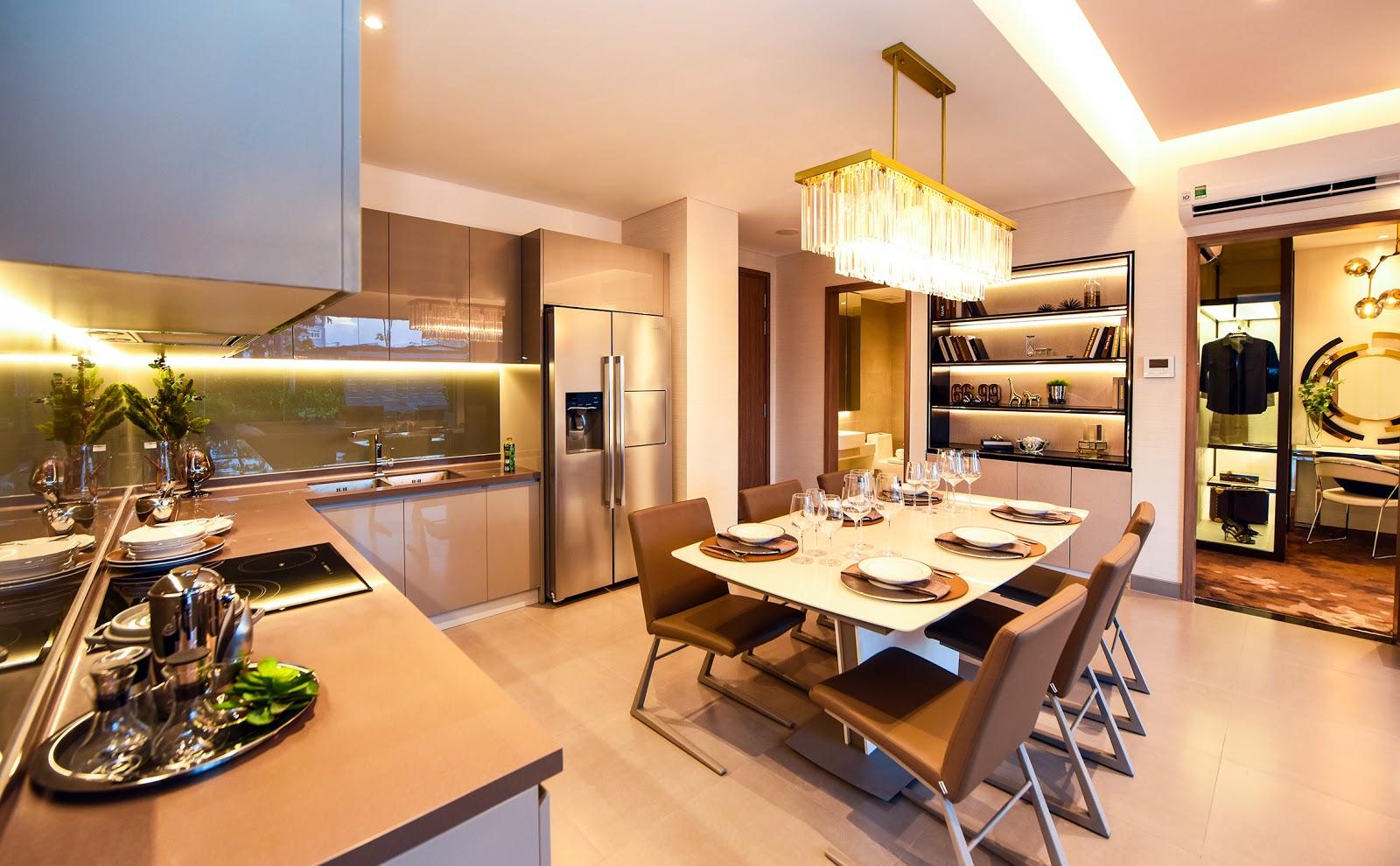 Thiết kế nội thất căn Dual Key