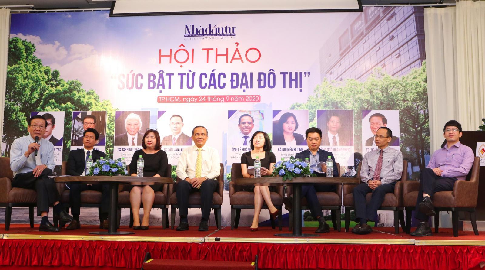 Hình ảnh tại hội thảo Sức bật đại đô thị
