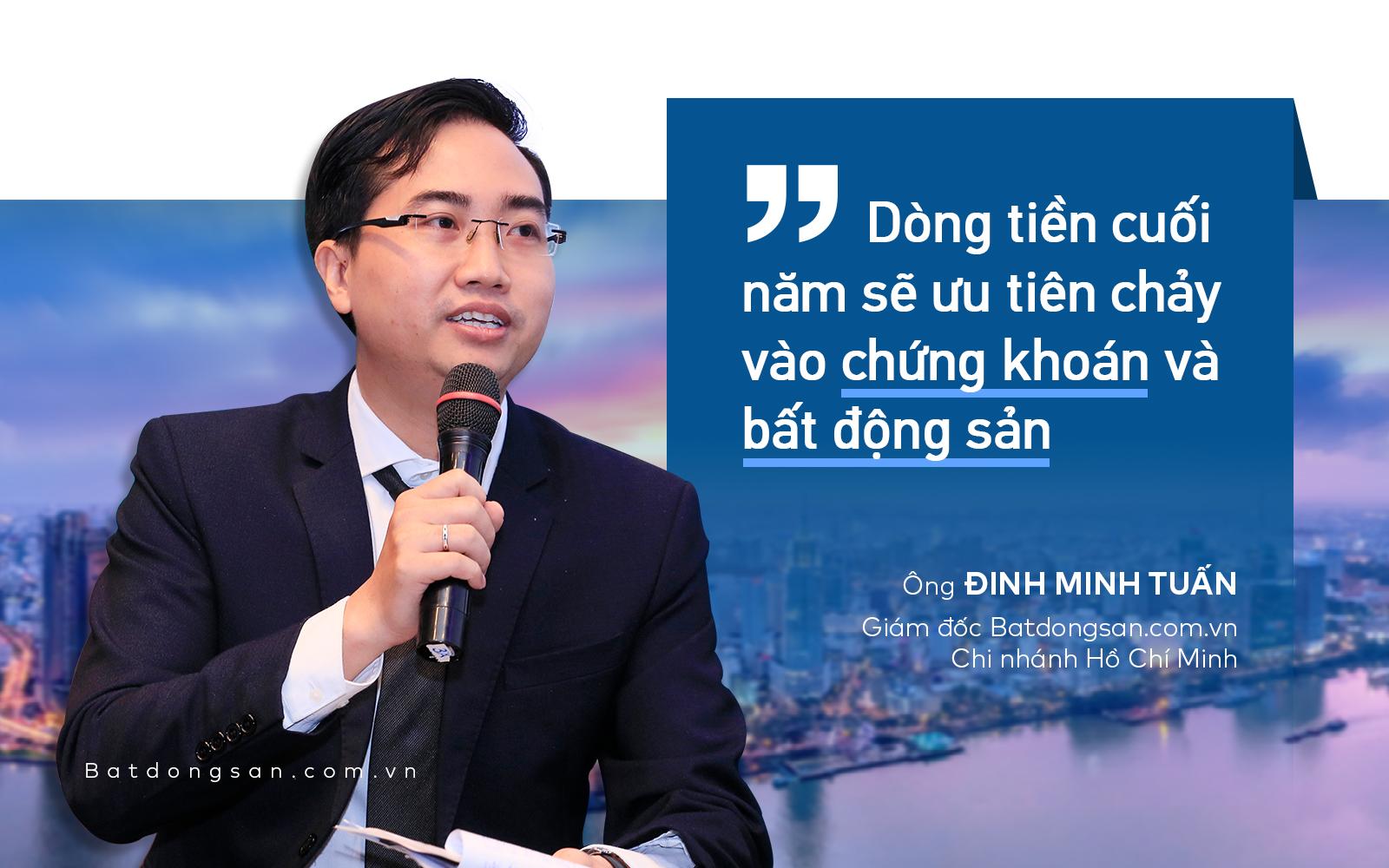 ông Đinh Minh Tuấn nhận định về dòng tiền đầu tư bất động sản