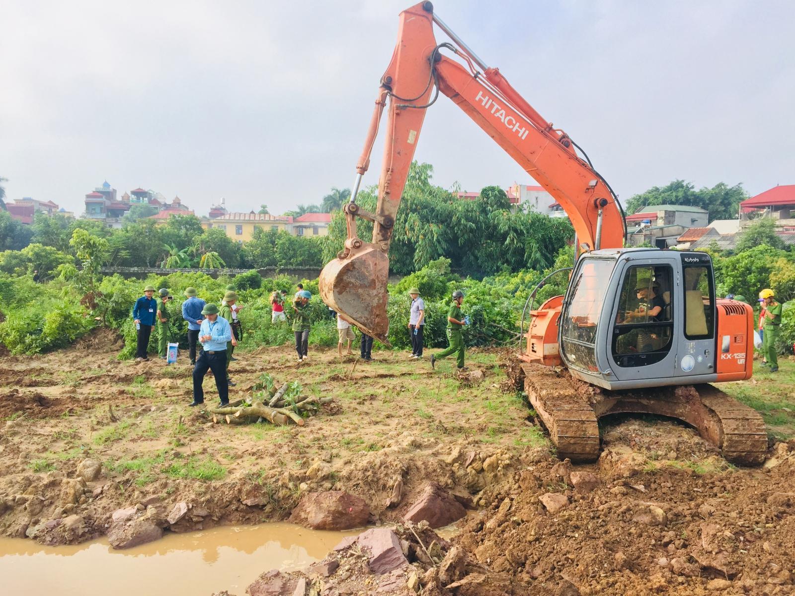Thực hiện cưỡng chế thu hồi đất
