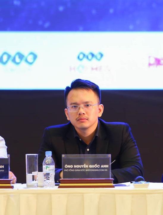 hình ảnh ông Nguyễn Quốc Anh, Phó tổng giám đốc Batdongsan.com.vn