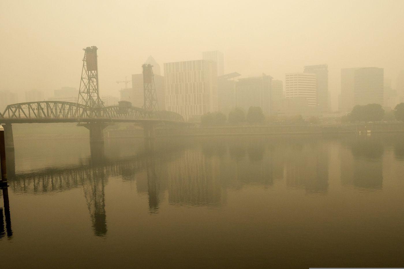 Thành phố ô nhiễm vì khói bụi