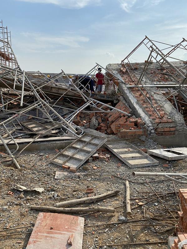 Lỗi nghiêm trọng khi thi công khiến nhà đổ sập