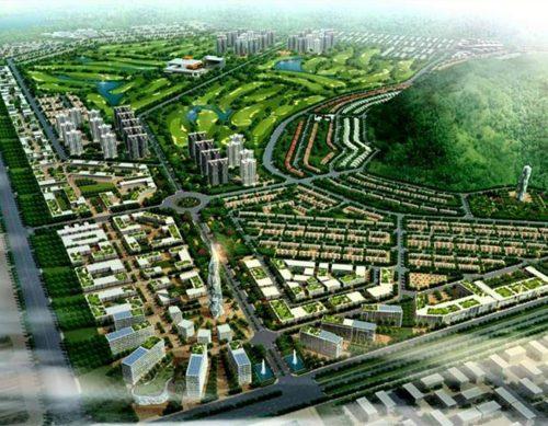 Phối cảnh tổng thể dự án Khu dân cư Sonadezi Hữu Phước