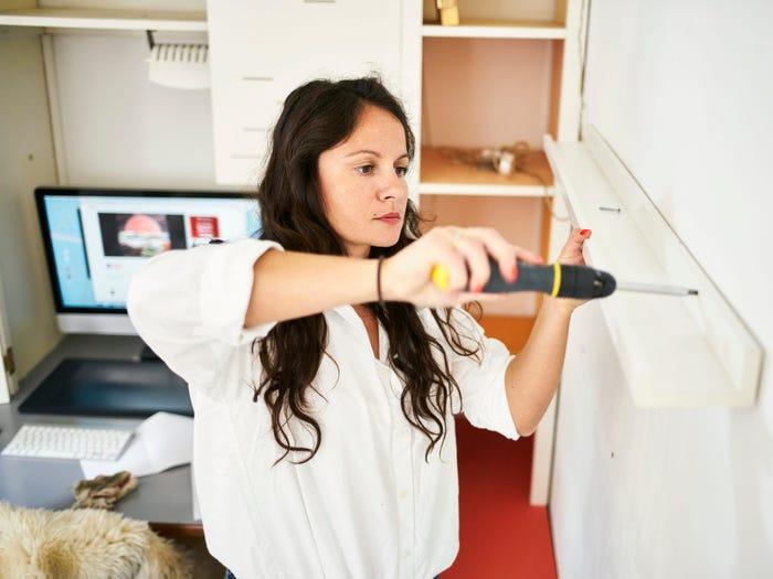 Tự cải tạo nhà cần nhiều kỹ năng và kinh nghiệm