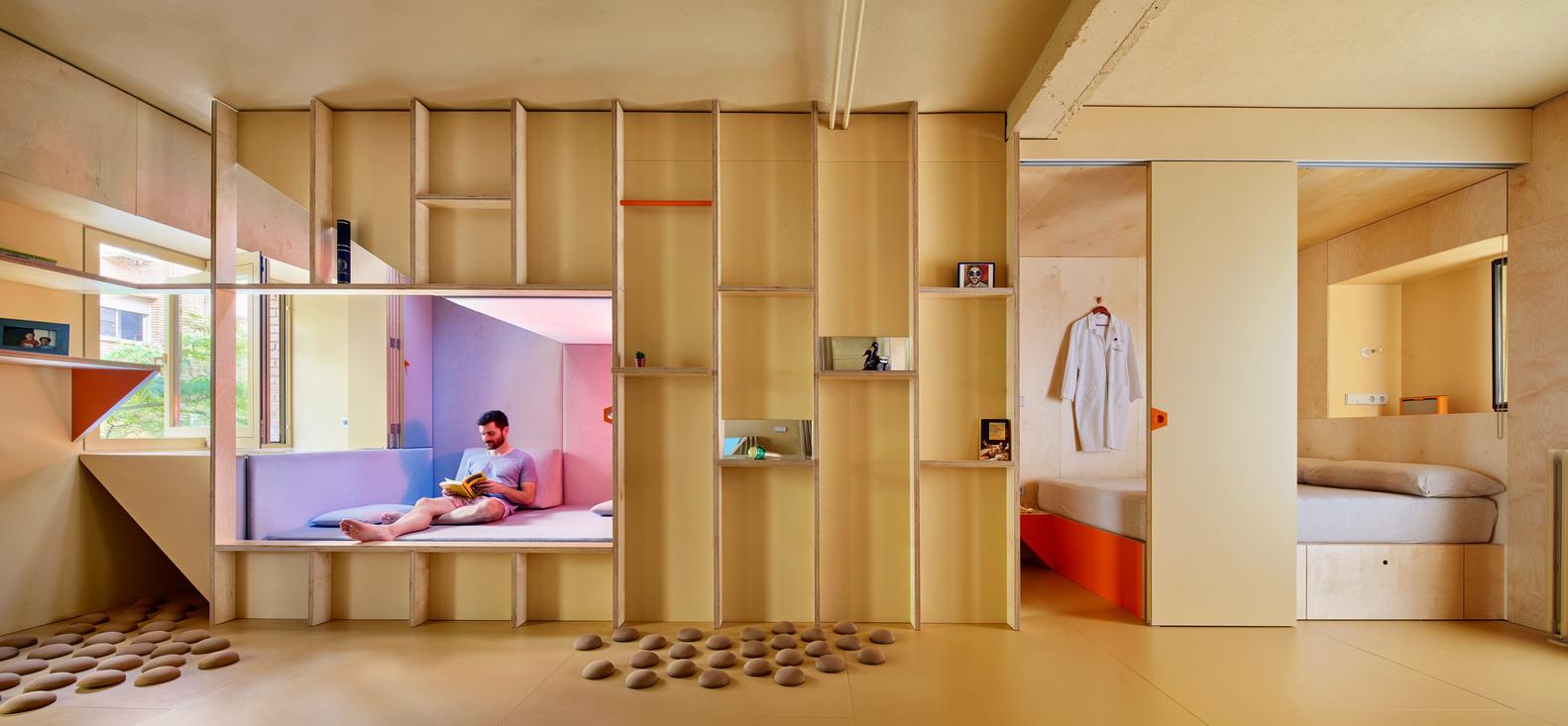 Xu hướng thiết kế kết hợp kiến trúc và nội thất để định hình không gian