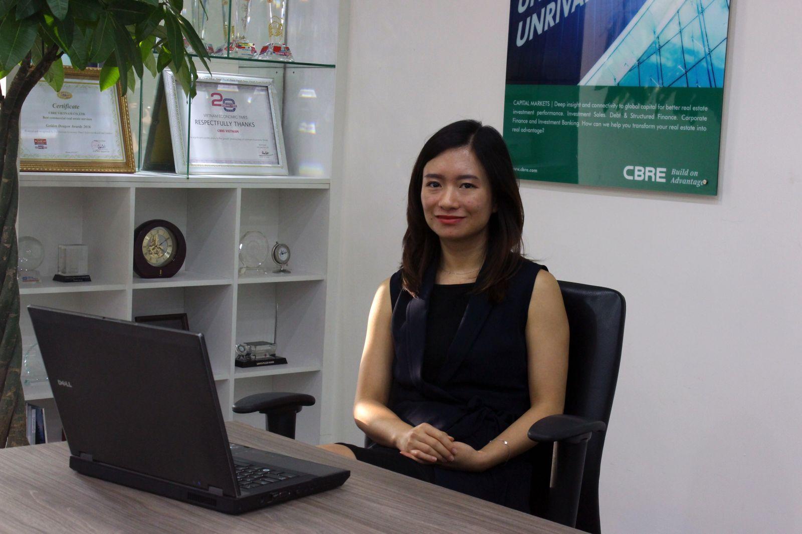 Bà Nguyễn Hoài An, GĐ CBRE Hà Nội