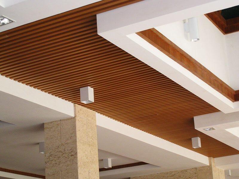 Ốp trần gỗ nhân tạo Conwood.