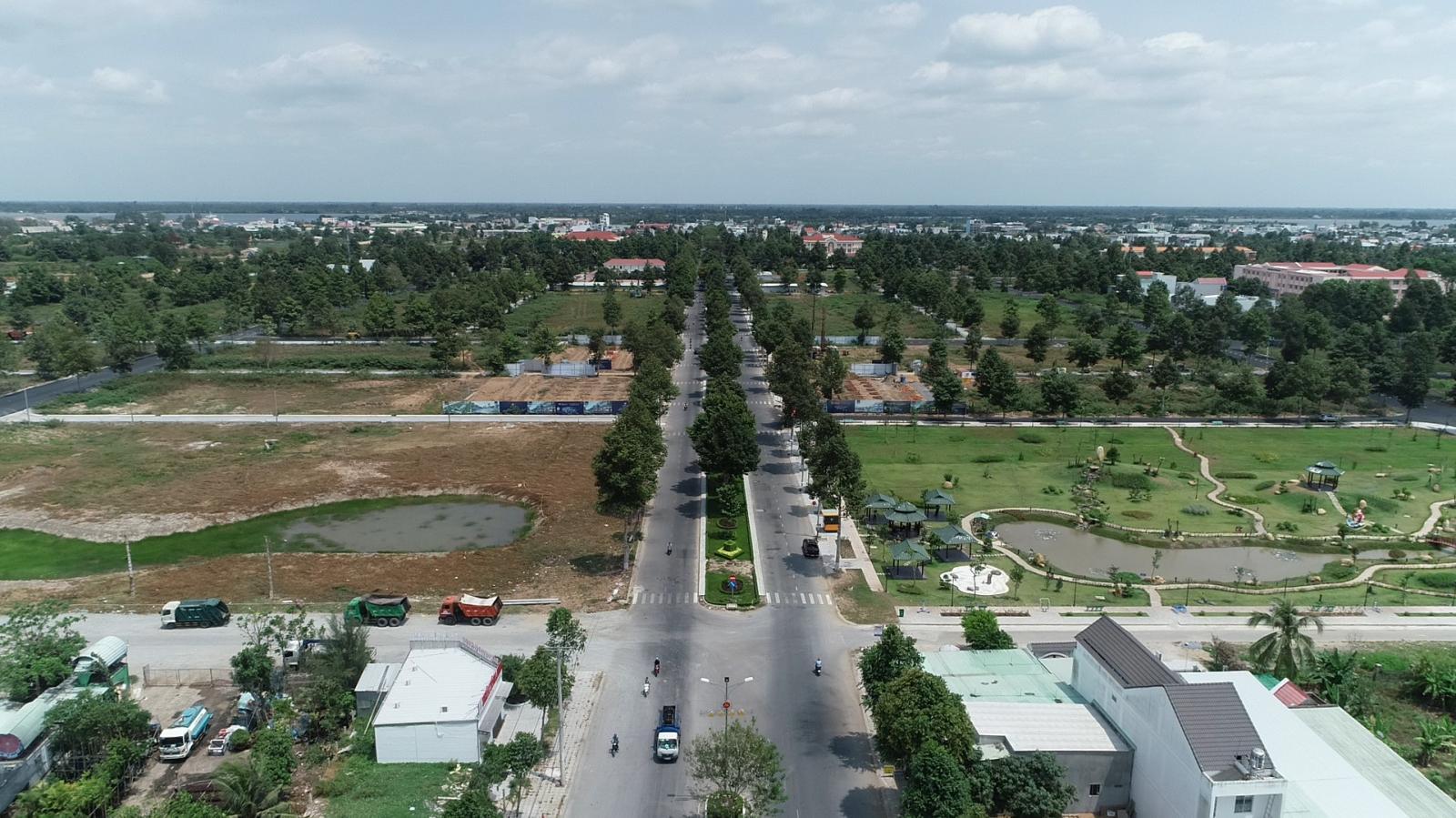 Toàn cảnh Stella Mega City nhìn từ trên cao