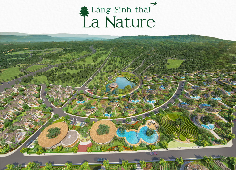 Phối cảnh dự án Làng sinh thái La Nature