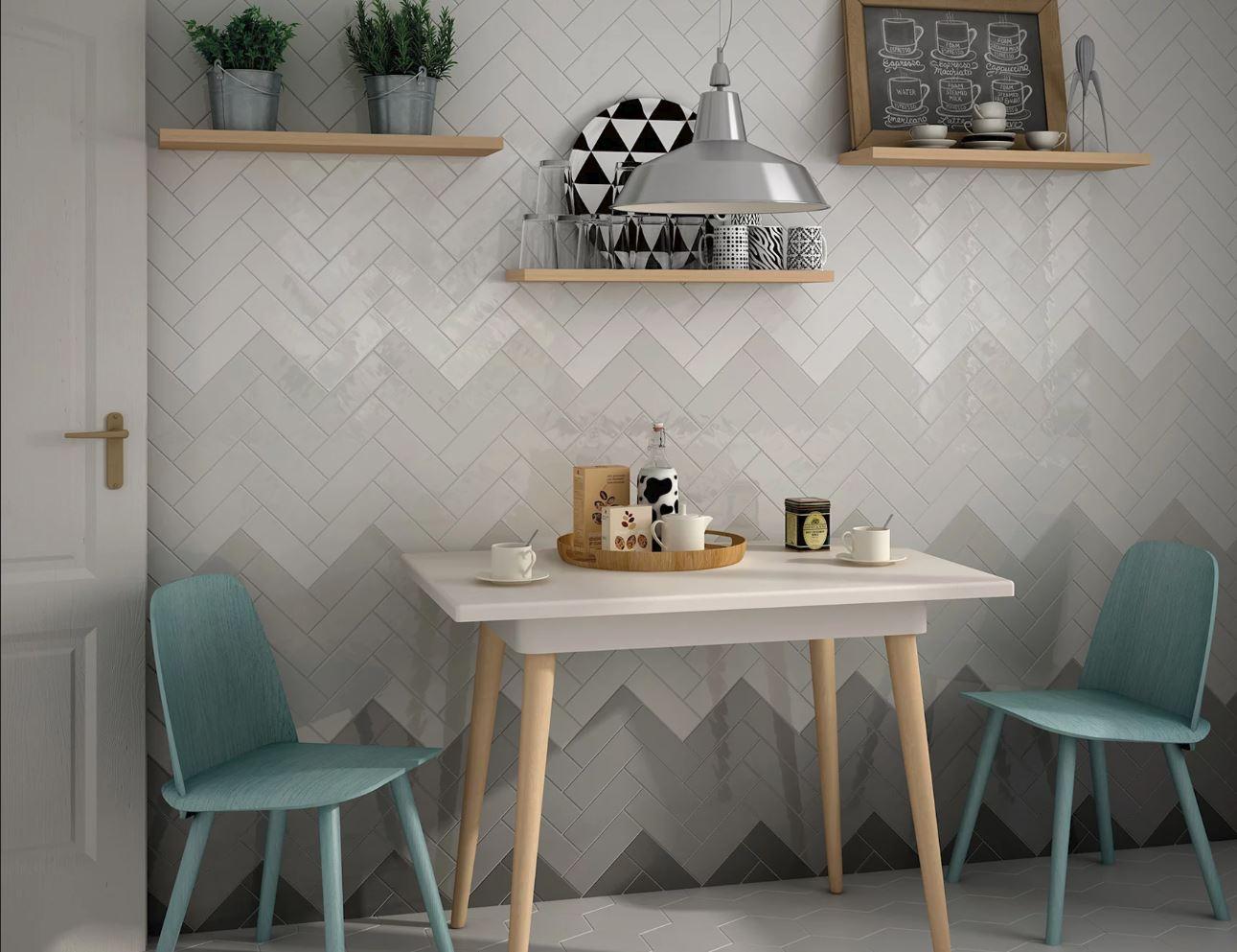 mẫu gạch ốp tường cho phòng khách nhỏ