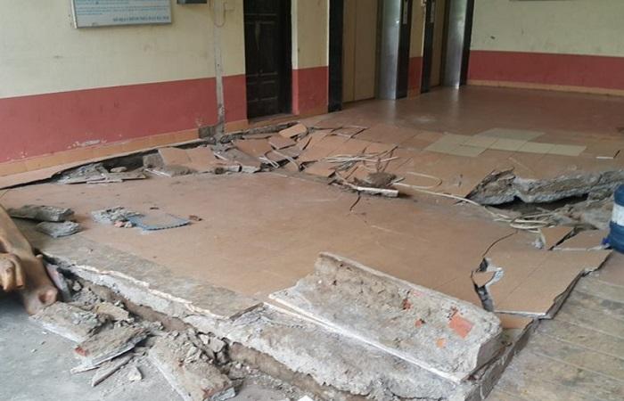 Cải tạo nâng nền nhà để khắc phục tình trạng sụt lún