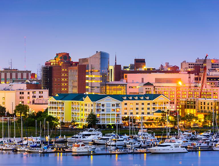 Bang Nam Carolina có giá nhà trung bình và mức thuế suất bất động sản đều khá thấp