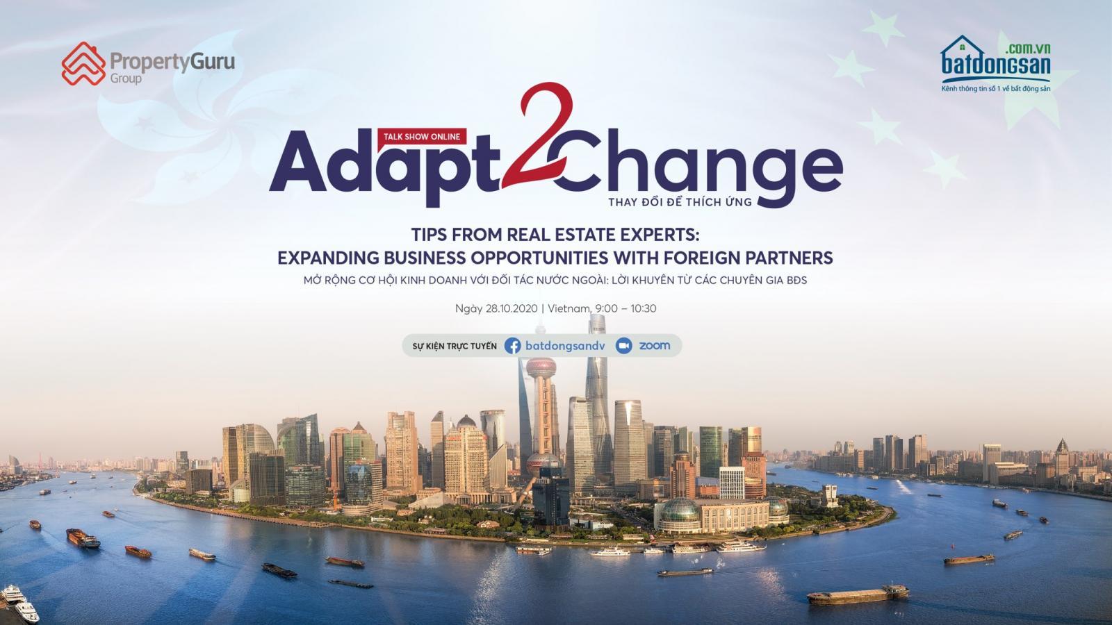 Batdongsan.com.vn's online seminar Adapt 2 Change