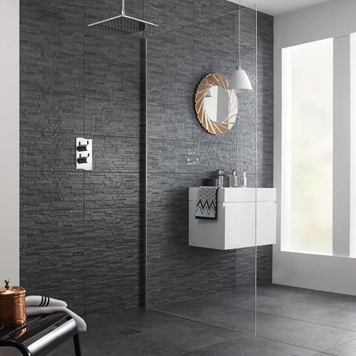 chọn gạch lát nền cho phòng tắm nhiều sáng