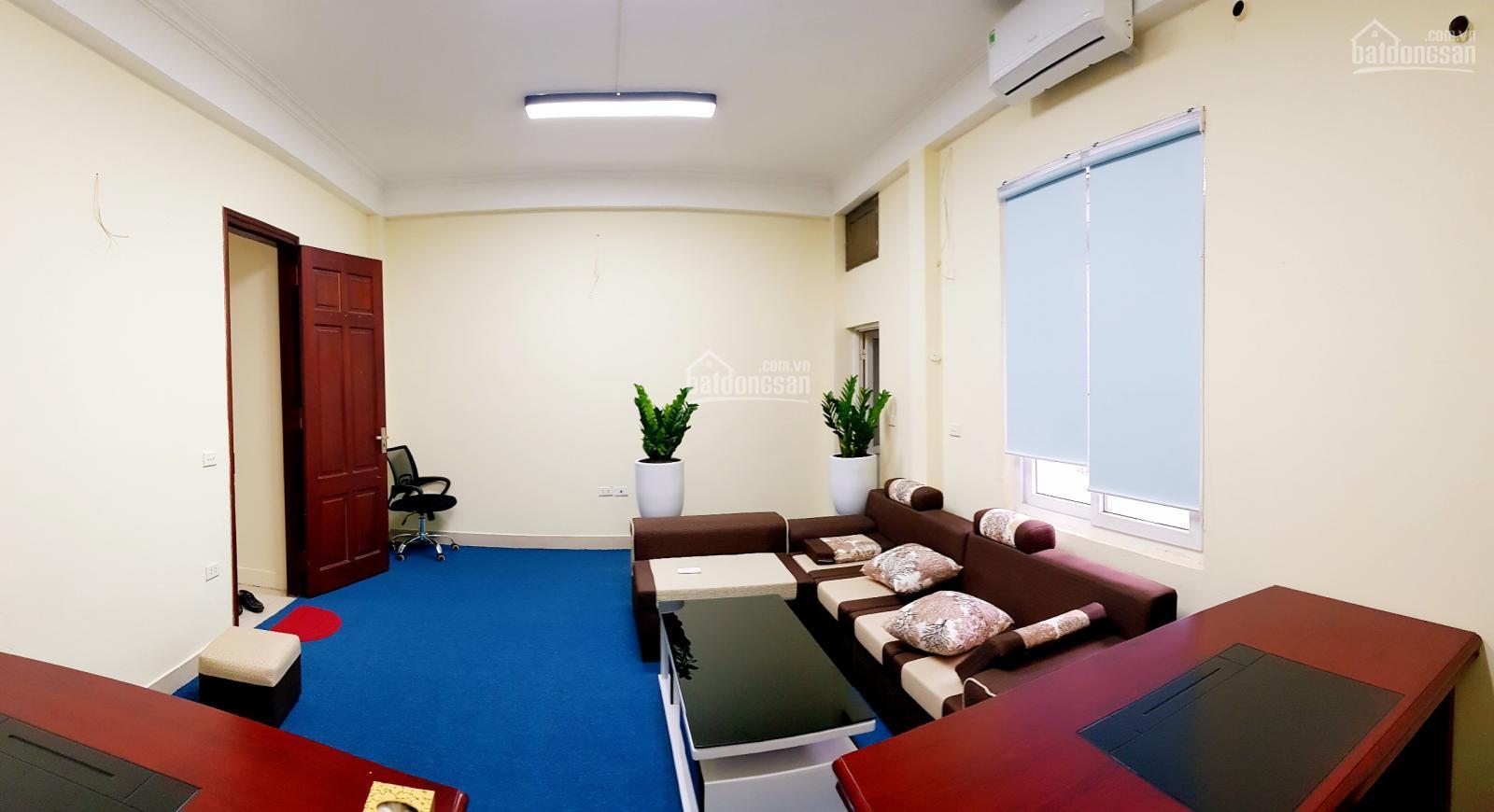 Cho thuê VP tòa nhà TP Office 225A Nguyễn Ngọc Vũ, DT 35m2, VS riêng, thang máy. Giá: 5 triệu/th