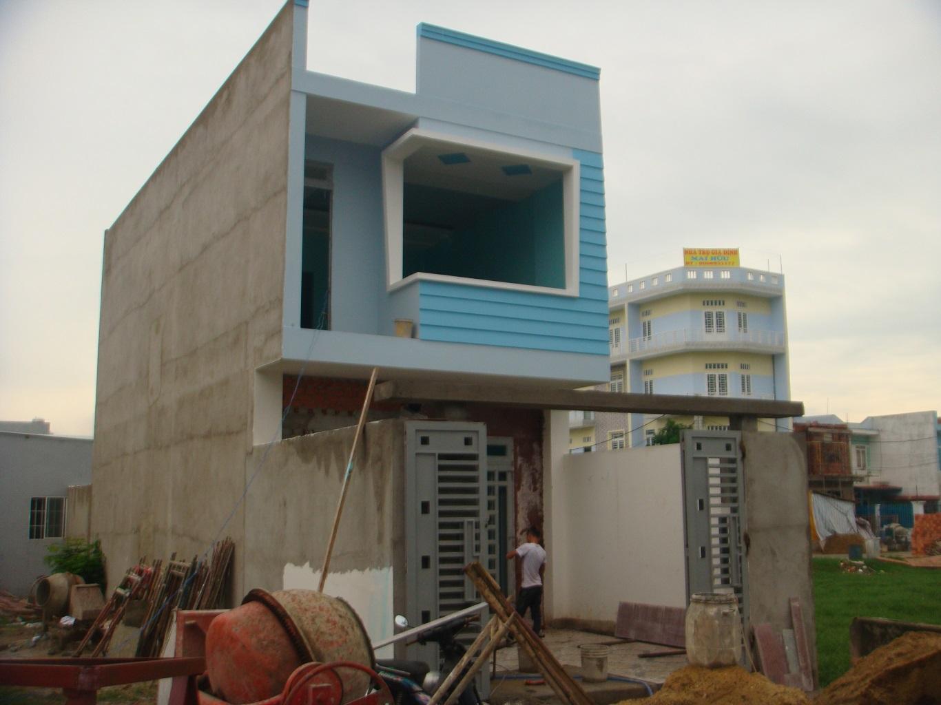 Một mẫu nhà cấp 4 sau khi cải tạo nâng tầng