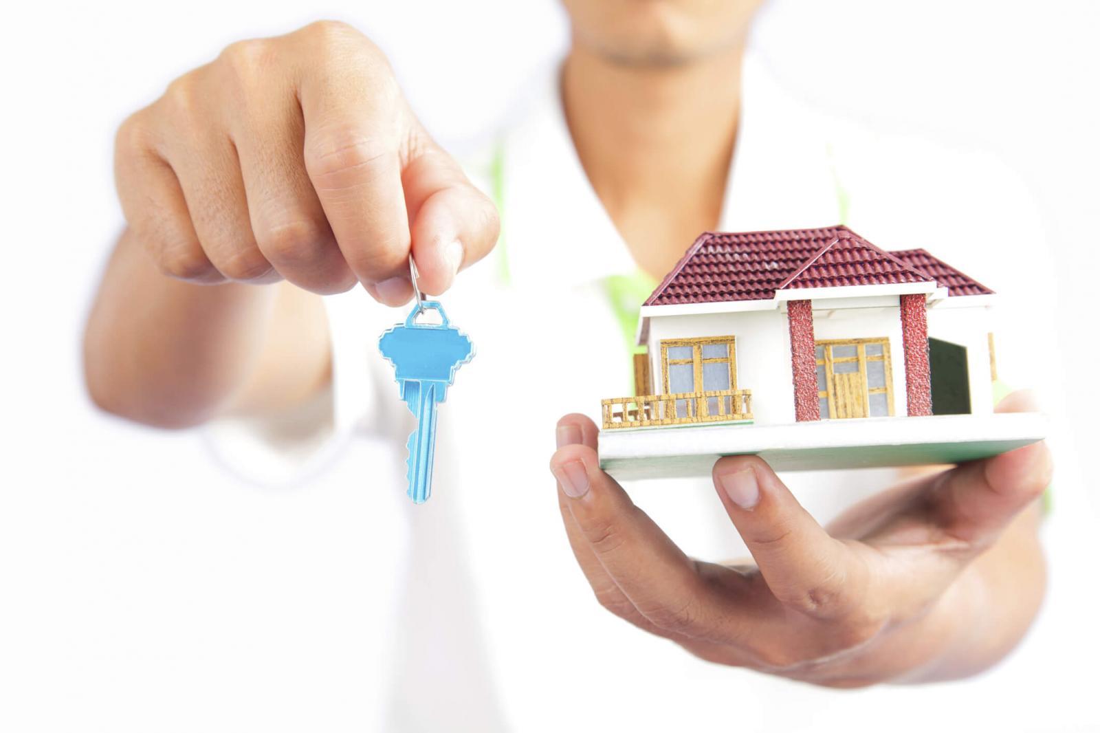 hình minh họa mua bán nhà