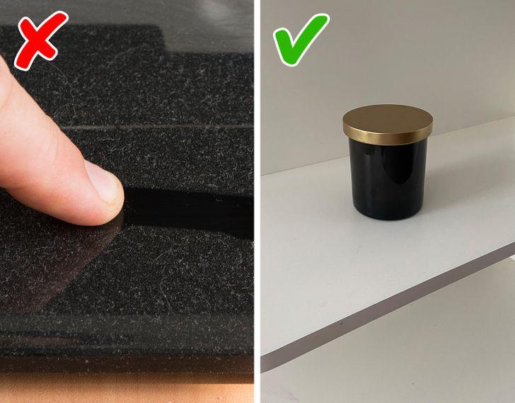 Nội thất màu đen dễ làm lộ vết bụi bẩn