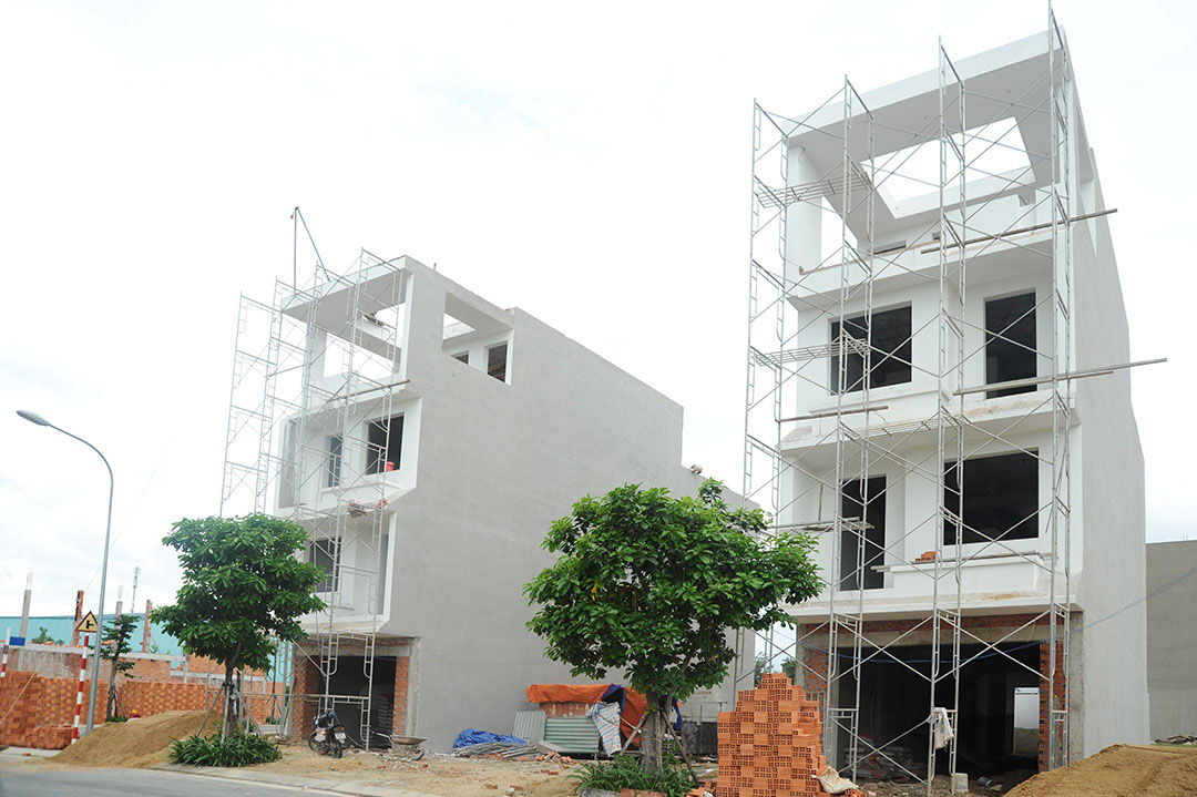 Hình ảnh một dự án nhà triển khai tại khu Đông