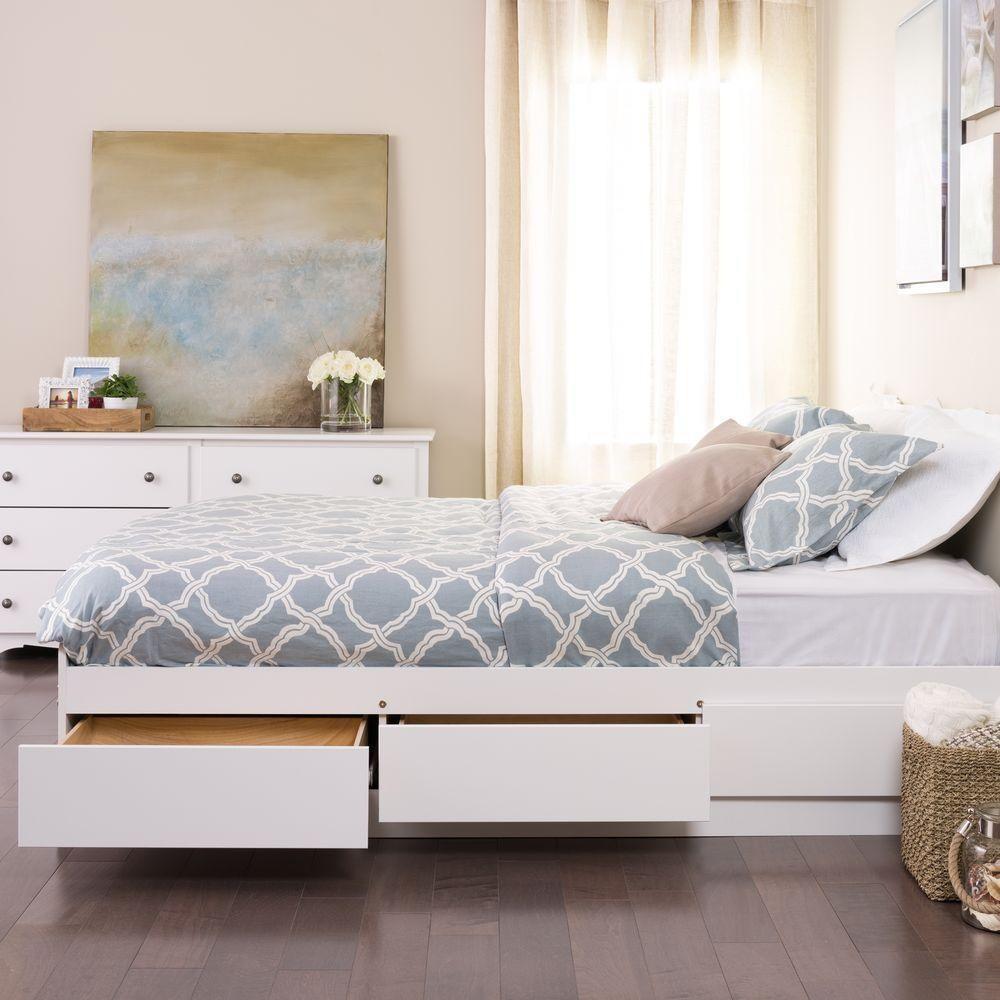 Giường ngủ thông minh được thiết kế với nhiều ngăn để đồ