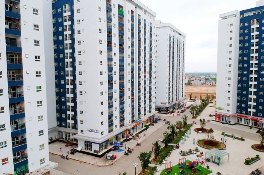 dự án nhà giá rẻ gồm nhiều tòa nhà