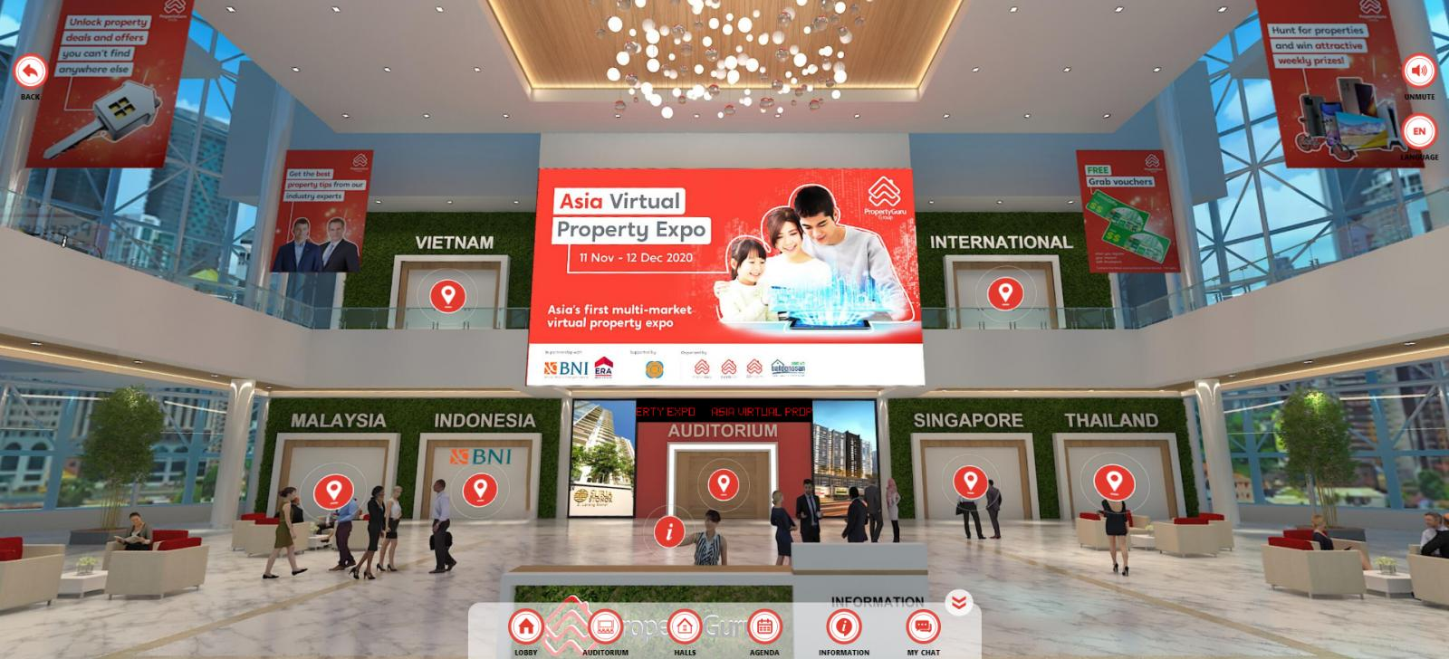 Asia Virtual Property Expo, hosted by PropertyGuru