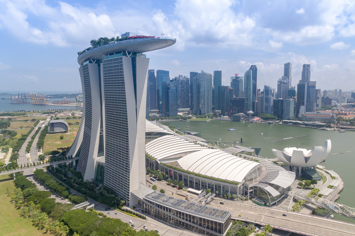 Hình ảnh thành phố Singapore