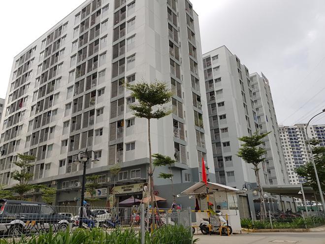 tòa nhà ở xã hội cao tầng