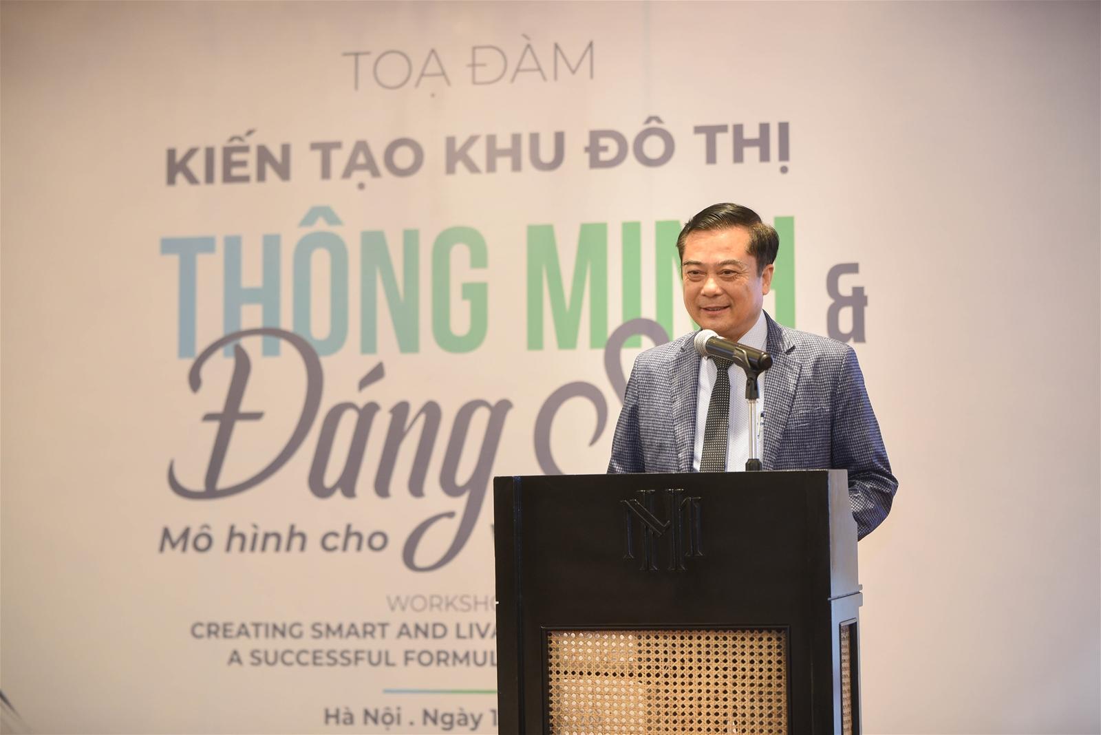 hình ảnh ông Nguyễn Công Hồng, Phó Tổng giám đốc Tập đoàn Ecopark
