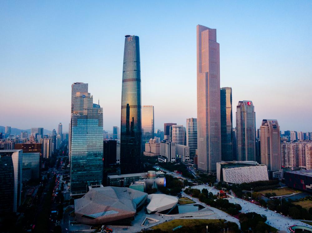 Các tháp CTF tại Quảng Châu và Thiên Tân