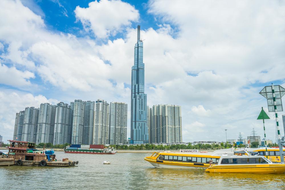 Tòa Landmark 81 - Tòa nhà cao nhất Việt Nam