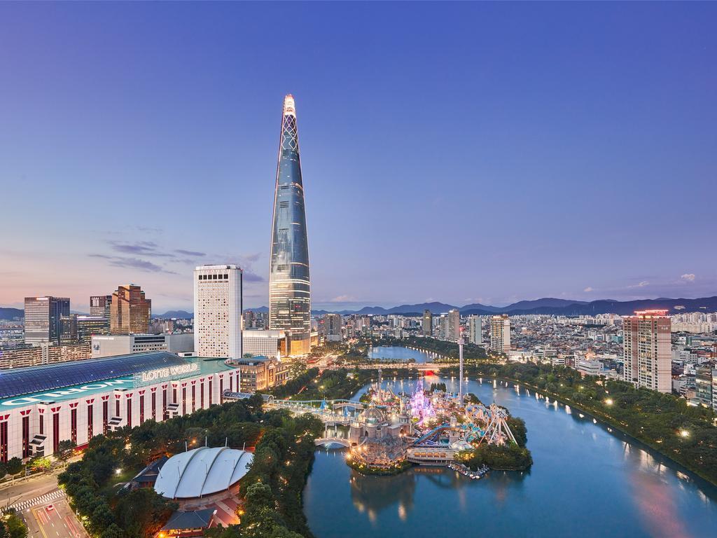 Tháp Lotte World - công trình cao nhất Hàn Quốc