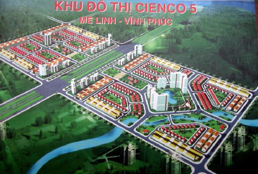 phối cảnh dự án khu đô thị gồm nhiều khu nhà ở, nhiều cây xanh bao quanh