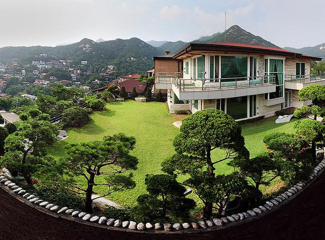 nhà vườn kiểu Hàn