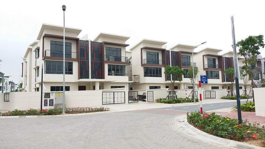 Mẫu biệt thự nằm trong dự án Gamuda