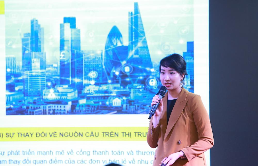 hình ảnh bà Hoàng Nguyệt Minh, Phó giám đốc Tư vấn Đầu tư – Savills Hà Nội