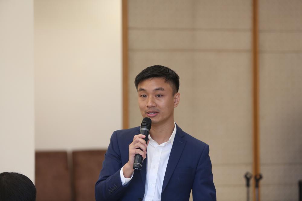 hình ảnh ông Nguyễn Thành Trung, Giám đốc Công ty CP Phát triển nghỉ dưỡng Ngoại Ô