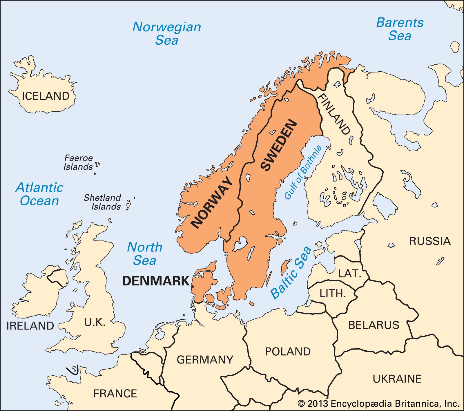 Bán đảo Scandinavia