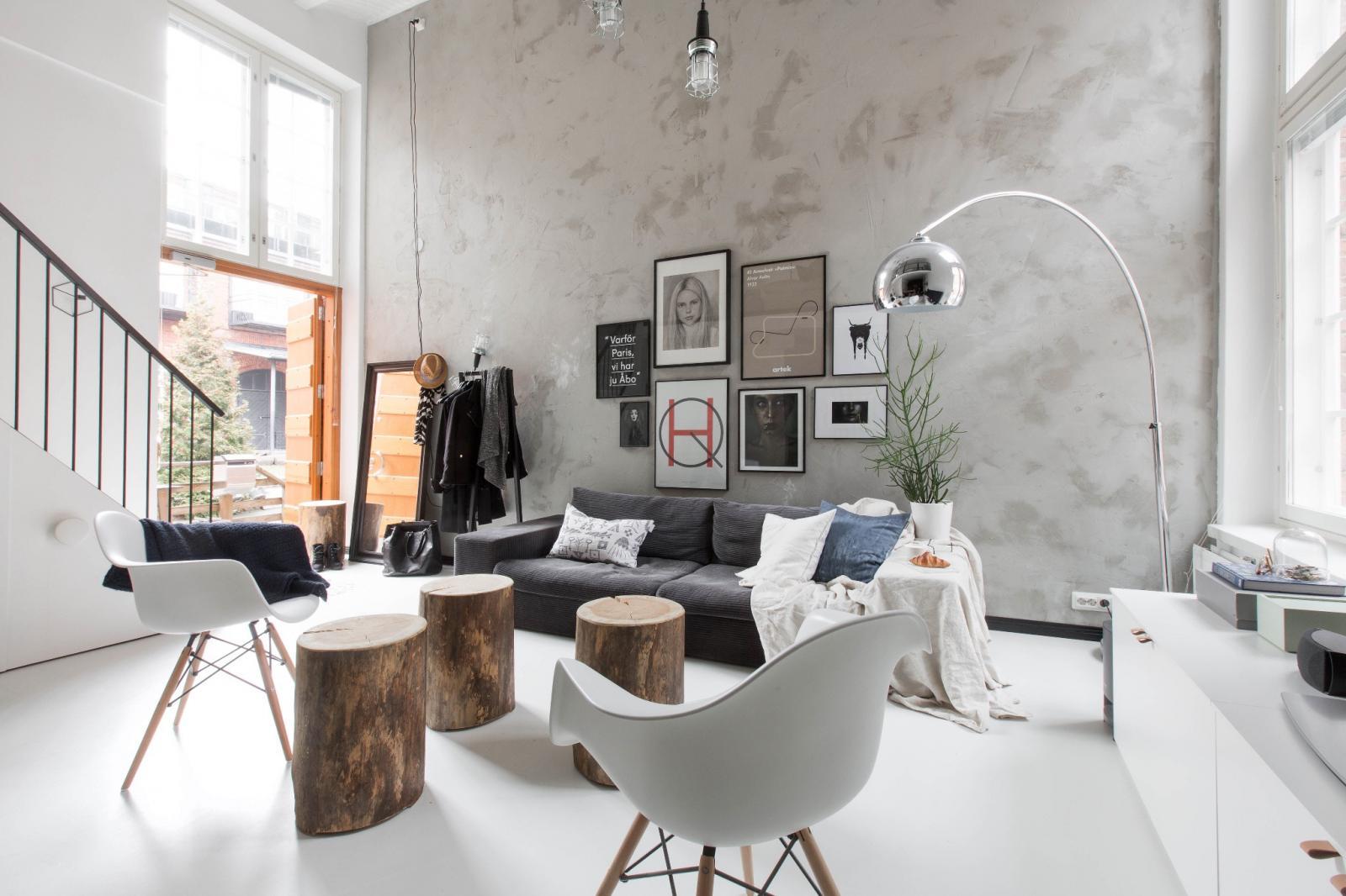 Gỗ trong phong cách nội thất Bắc Âu