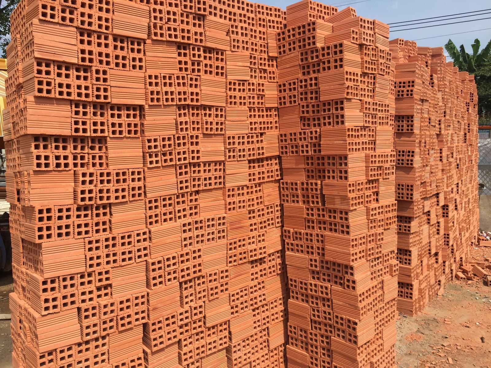 Các loại gạch thường dùng trong xây dựng: gạch đất nung