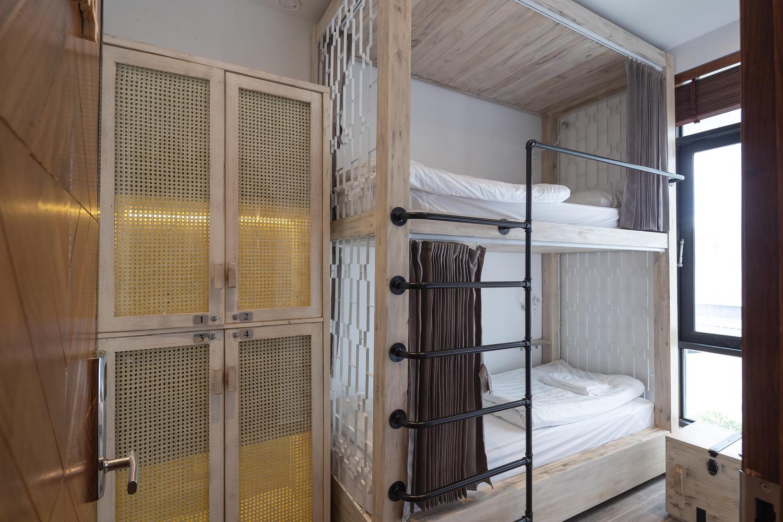 Phòng nghỉ tập thể được thiết kế đơn giản nhưng tiện nghi