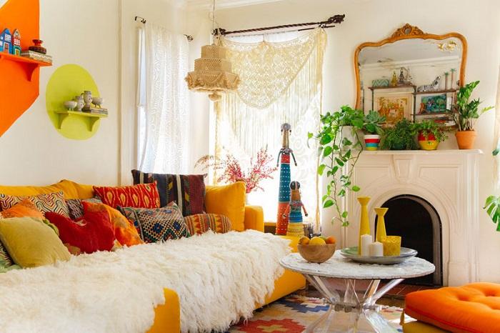 Phong cách Bohemian thể hiện lối sống và tư duy thẩm mỹ phóng khoáng