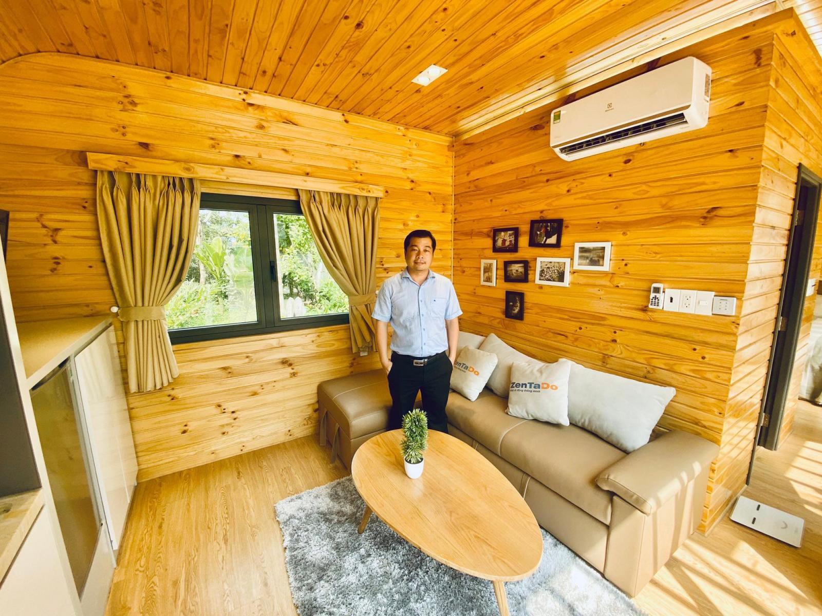 Mẫu căn nhà di động Zentado giá rẻ, tiện nghi